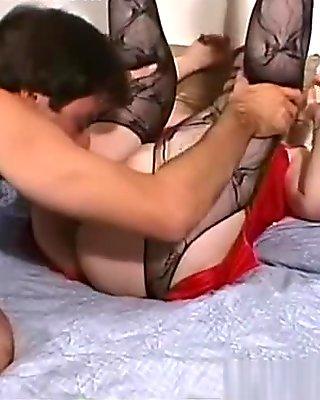 Amazing pornstar in fabulous mature, lingerie porn video