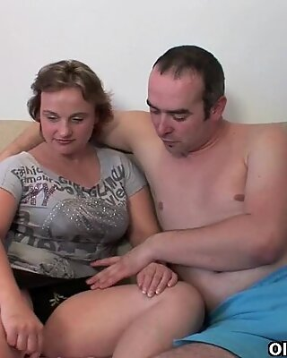Milfs let their toy boy have his way with their pussy