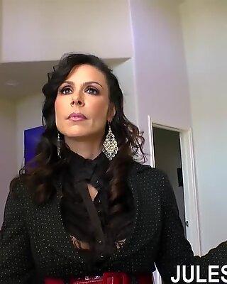 Jules Jordán - Kendry Lust Big Boob Mamina Double Vymrdané