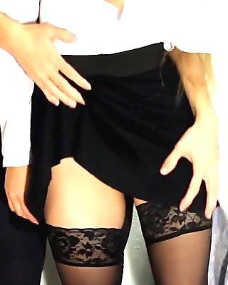 Watch stockings brit lesbians