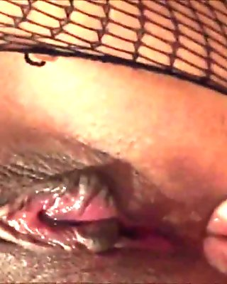 HD Closeup Fingering her Asshole
