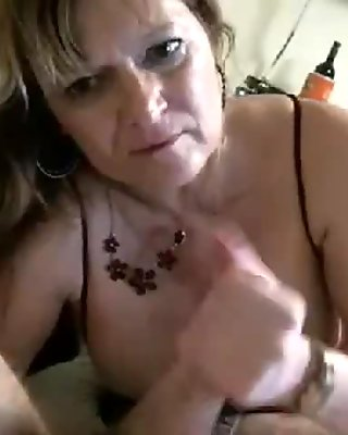 She sucks  fucks  wanks and everything else on his hard cock