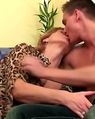 Big boobs mom fucked very hard.