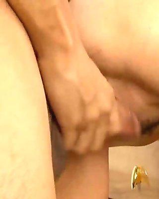 Cock fucks mature twat and pantoons