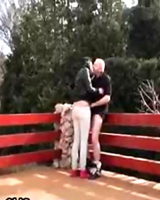Grey old man loves to fuck tight