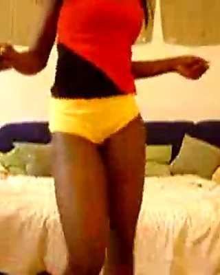 Hot Black Babe Sexy Booty Twerk - spankbang.org