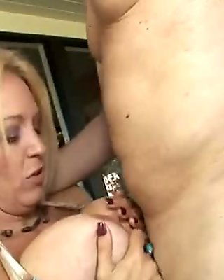 Avid mom has fire in her vagina and rides cock really hard