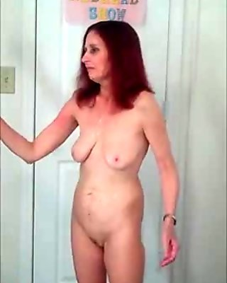 Rehot Redhead Show (flashing in the see-through dress)