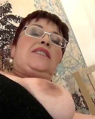 Granny school teacher needs a good fuck