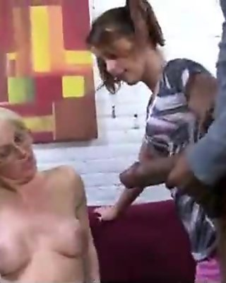 Beautiful mom with puffy pussy fuck a black dick 13
