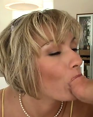 Tasty ass MILF rides an agents dick in his office