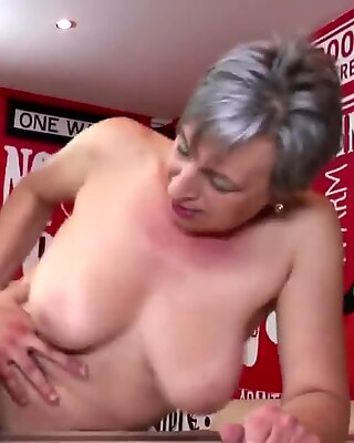grannie takes youthfull dick after tea