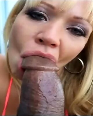Sexy Pornstar Austin Taylor Loves Big Black Cocks