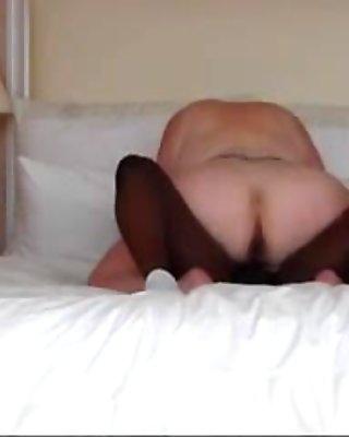 horny bbw rides young bbc