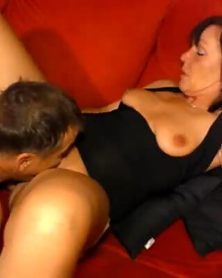 AMATEUR EURO - Sexy German GILF Knows How To Make Her Husband Happy