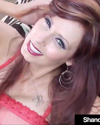 Creampied Cougar Shanda Fay Fucked In Her Butt &amp_ Pussy!