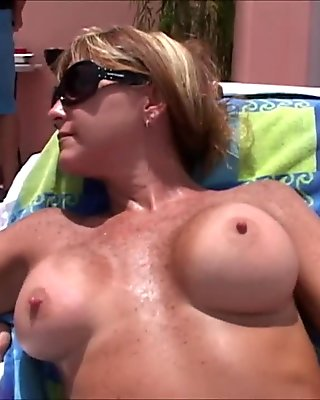 MILF Pool Party-Cougars coax cum from cocks young and old