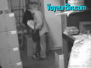 Caught by Security Cam