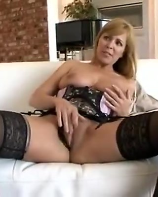 Exotic Amateur clip with Big Tits, Stockings scenes