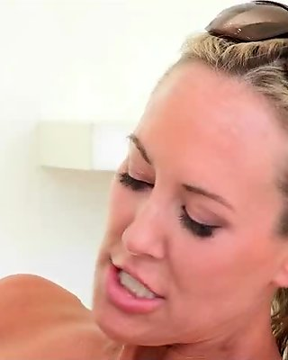 Teen and stepmom took turns fucking cock