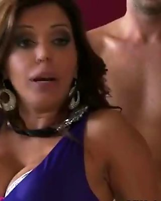 Horny MILFS share one cock