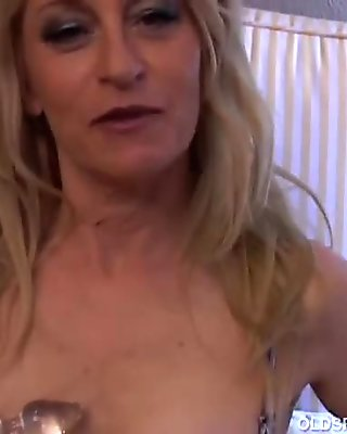Horny old spunker wishes you were fucking her juicy pussy