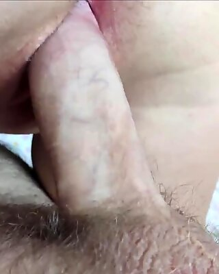 Close up Cum inside Quick Sex in a very Tight Pussy 4K
