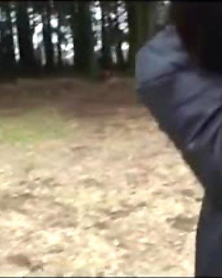 Young man fucks a mature japanese