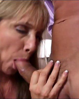 Nympho milf missed her man very bad