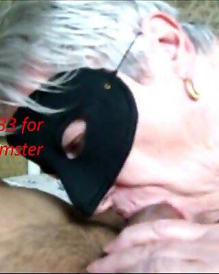 Granny sucking in HD