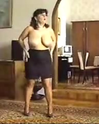 Mom Strips Then Gets Her Pussy Licked