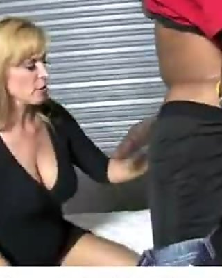 Huge black cock in tight mommys pussy 22