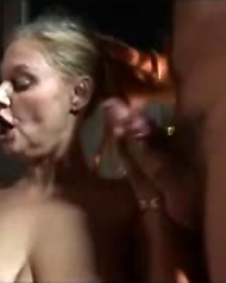 Blonde mature loves theresoome sex