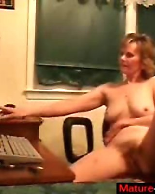 ravaging the mature lady