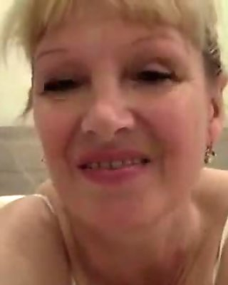 Mature Granny Getting Horny At Home