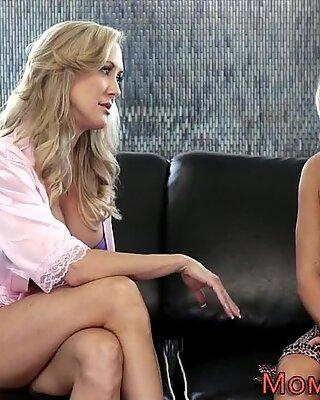 Blonde lesbian gets eaten