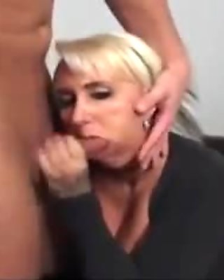 German Mommy cant get enough young cock