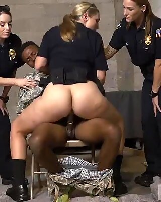 Hd mature milf tits xxx Fake Soldier Gets Used as a Fuck Toy