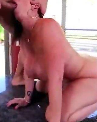 Hard Style Banged By Monster Cock A Mature Lady (sara jay) vid-26