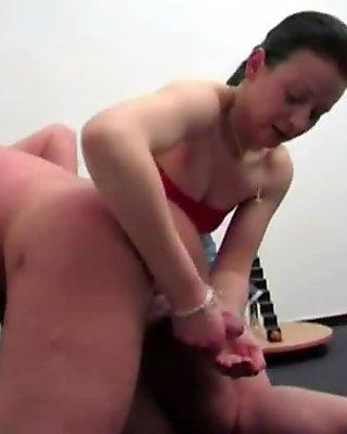 Hand to cum 9
